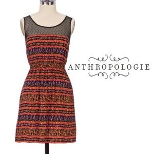 Anthropologie - Maeve Floral Peppercorn Dress